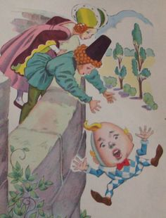 1944 Humpty Dumpty Antique Illustration by fromlosttofound on Etsy https://www.etsy.com/listing/105515580/1944-humpty-dumpty-antique-illustration