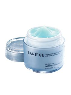 LANEIGE WATER SLEEPING PACK This Korean skincare line's sleeping facial mask is one of the most popular beauty buys in Asia. This is really moisturized and soft . This is really worked.