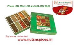Are you looking for the best place to buy spices online to enhance your food taste call at 044 2834 1240.