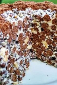 Tort extraordinar care nu necesita coacere, e nemaipomenit Krispie Treats, Rice Krispies, Caramel, Food And Drink, Yummy Food, Vegan, Cookies, Cheesecake, Baking