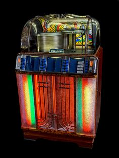 Rock And Roll, Jukebox, Chrome, Objects, Boxes, Mid Century, Inspired, Retro, Antiques