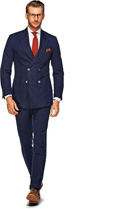 Navy Blue Suit - Suit Supply