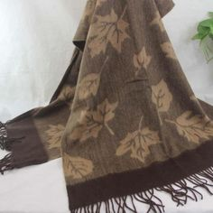 New Winter Women's Man's Jacquard Cashmere Wool Soft Warm Wrap Shawl Scarf 150