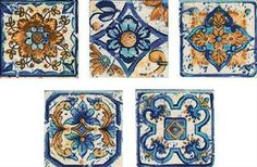 Čtverečky 12 modré cm k dlažbě sumatra (set MULTI Tiles, Decor, Rugs, Mats, Multi, Home Decor