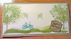 Stampin´UP!, Stempelset Baum der Freundschaft, Geburtstagskarte