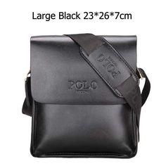 Stylish Trendy Casual Business Leather Men's Handbag ,