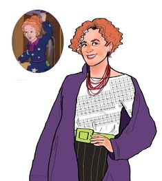 And for fun, what Ms. Frizzle would look like as a college professor... fabulous as ever | The Magic Schoolbus Characters Are All Grown Up And Dayum They're Hot