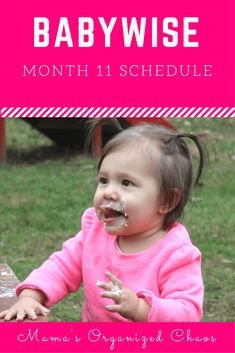 Babywise schedule month for baby around 11 months of age. On this page you'll find schedules, information on naps, nighttime sleep, and more! 11 Month Old Schedule, Baby Schedule, Toddler Schedule, Sleep Schedule, Newborn Schedule, Parenting Teens, Parenting Advice, Awake Times For Babies, Baby Wise