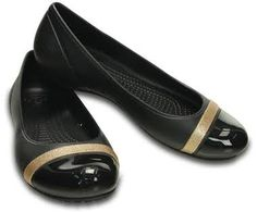 Women's Cap Toe Shimmer Flat | Women's Flats | Crocs Official Site