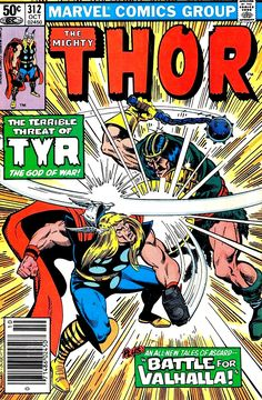 1981 - Anatomy of a Cover - Mighty Thor #312 by Keith Pollard and Terry Austin