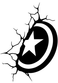 Shield Of Captain America Wall Decal Cartoon Vinyl Sticker Superhero Marvel Comics Mural Children's Room Decor Avengers Fans Posters Captain America Tattoo, Captain America Drawing, Captain America Art, Captain America Wallpaper, Marvel Wallpaper, Wallpaper Art, Marvel Comics Superheroes, Marvel Art, Poster Marvel