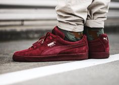 Snipes x Puma Suede Classic 'Epic Snake' - 2015 (by Clean and care for your sneakers with shoe trees by Sole Trees Puma Sneakers Suede, Converse Sneaker, Sneakers Mode, Sneakers Fashion, Sneaker Outfits, Nike Outfits, Suede Outfits, Puma Outfit, Shoes