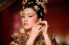 Gong Li in The Curse of the Golden Flower.