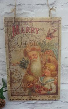 Christmas Signs, Christmas Decorations, Rustic Decor, Wood Signs, Rustic Wall Decor, Christmas, Signs for the Home, Home Decor, December - pinned by pin4etsy.com