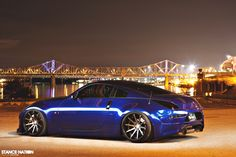 Slammed & Aggressively fitted Nissan 350z
