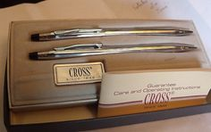 SOLD : Cross Pen and Mechanical Pencil Like New by EstatesInTime
