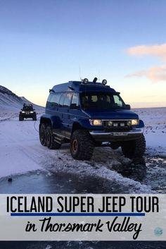 Iceland super jeep tour   Thorsmark Valley   Iceland tours   Iceland travel