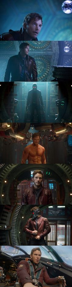 """Guardians of the Galaxy""  Peter Quill aka Star Lord    Played by Chris Pratt"