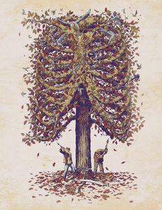 """""""Autumn Inside"""" by Georges Le Mercenaire"""