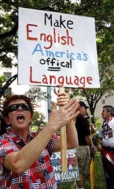 Make English America's offical Language!
