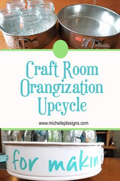 A DIY upcycled tiered craft organizer is the perfect, cheap organizing solution for your craft tools. Craft Organization, Craft Storage, Organization Ideas, Foam Crafts, Decor Crafts, Diy Crafts, Wood Drawer Pulls, Green Spray Paint, Vintage Bread Boxes
