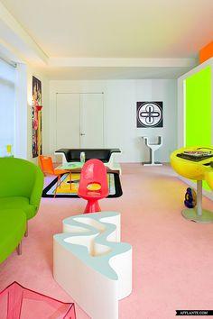 Loft te huur ingericht door designer Karim Rashid