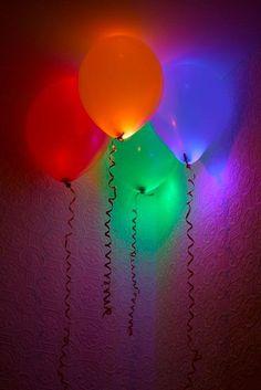 50+ Glow Stick Ideas - Glow Stick Balloons