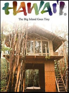 Dreamy Tropical Tree House in Fern Forest, Hawaii