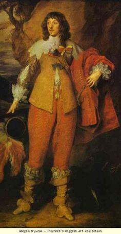 Free art print of Portrait of Henri II de Lorraine, Duc de Guise by Sir Anthony Van Dyck. Oil on canvas. The National Gallery of Art, Washington DC, USA. Anthony Van Dyck, Sir Anthony, Lorraine, Baroque Fashion, European Fashion, Anton Van, Roi Charles, Pop Art, Free Art Prints