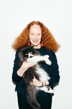 We may have had a fan girl moment at Grace Coddington's.