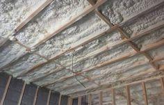 Roof Insulation Spray Foam INsulation Irlenad