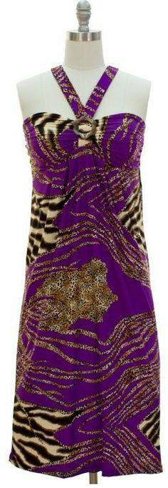 NWT Bandeau Dress - Purple 01 Cent SUMMER SALE BID NOW! Sm, M, L, XL