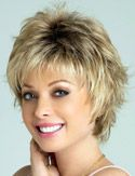 Winter Wig by Rene of Paris. A short carefree style with flirtatious layers that are flattering and modern.