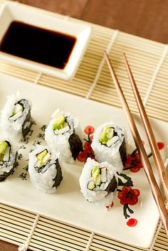 How to Make Sushi at Home: Sushi Rice & The California Roll