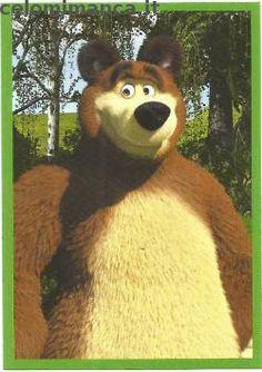 Masha and the bear - Masha e Orso: Figurina n. Masha And The Bear, Scooby Doo, Album, Cards, Fictional Characters, Maps, Fantasy Characters, Playing Cards, Card Book