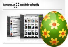 Ich habe ein Osterei gefunden! Jetzt mitmachen bei der grossen Ticketcorner Eiersuche! #TicketcornerEasterWin Ticket, Tech Logos, My Love, Searching, Concert Tickets, Concerts