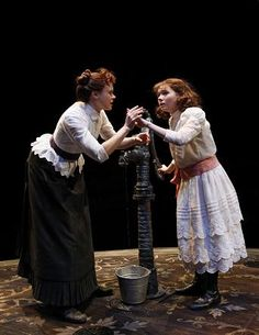 Belt around Annie's waist could change the look from fiddler to professional ish Alison Pill, Contemporary Plays, The Miracle Worker, Abigail Breslin, Theatre Reviews, Broadway Theatre, Theater, Classroom, In This Moment