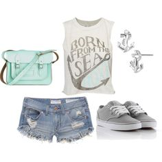 Born From the Sea polyvore outfit