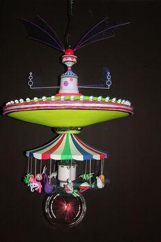 Tim Burton MoMA Exhibit - Carousel in motion 4