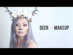 [ Halloween Makeup Ideas : Illustration Description Have you've ever wanted to be a deer? Or a fawn? Or a doe? or a deer fawn doe thing? WELL NOW YOU Deer Halloween Makeup, Deer Halloween Costumes, Deer Makeup, Fox Makeup, Halloween Make Up, Halloween Couples, Halloween Ideas, Bambi Costume, Antler Headband