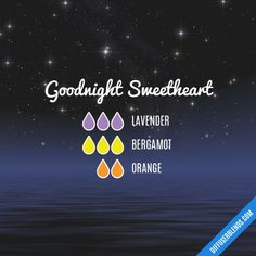Goodnight Sweetheart - Essential Oil Diffuser Blend
