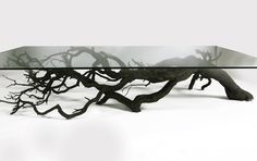 Tree Coffe Table by Sebastian Errazuriz.