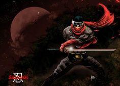 Artwork Shinobi My Works, Ninja, Bb, Darth Vader, Painting, Fan Art, Artwork, Movie Posters, Fictional Characters