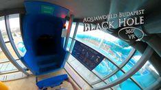 Aquaworld Budapest Black Hole (Bodyslide) 360° VR POV Onride Water Slides, Vr, Budapest, Black, Black People