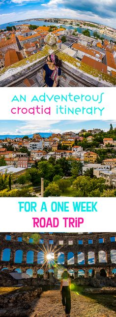 Here's my 1 week in Croatia itinerary! If you only have 1 week in Croatia and you want to take a road trip around Croatia, this is the itinerary to follow. You drive from Pula down to Makarska and see many of the things to do in Croatia in between. Croatia is GORGEOUS. Enjoy this Croatia itinerary! Don't lost this pin! Save it for later. #Croatia #CroatiaRoadTrip #CroatiaTravels #TravelCroatia #RoadTripCroatia
