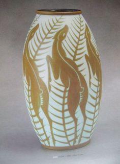 Charles Catteau vase