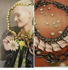 Necklaces unique handmade vintage brooches andare bracelet colors chains