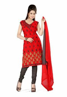 Fabdeal Indian Designer Cora Silk Red Embroidered Salwar Fabdeal, http://www.amazon.co.uk/dp/B00IRB922Q/ref=cm_sw_r_pi_dp_MDRntb1160DKW