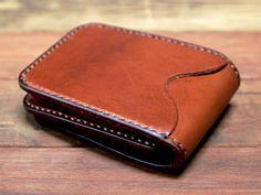 Nice_Work_Blackacre_Wallets_3 Leather Wallet Pattern, Small Leather Wallet, Handmade Leather Wallet, Leather Bifold Wallet, Small Leather Goods, Leather Pouch, Leather Tooling, Leather Wallets, Leather Belts