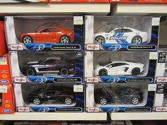 2012 Maisto Special Edition Cars (1:24) by thienzieyung, via Flickr